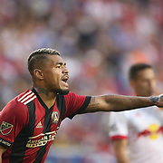 HARRISON, NEW JERSEY- OCTOBER 15: Josef Martinez #7 of Atlanta United during the New York Red Bulls Vs Atlanta United FC, MLS regular season match at Red Bull Arena, Harrison, New Jersey on October 15, 2017 in Harrison, New Jersey. (Photo by Tim Clayton/Corbis via Getty Images)