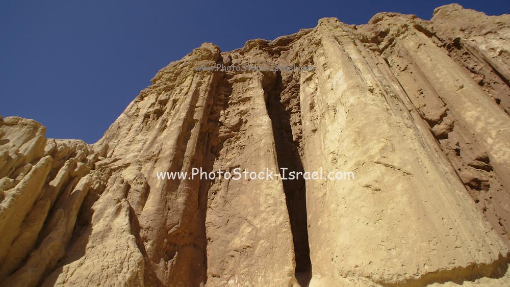 Israel, Eilat Mountains, Amram columns or Amram Pillars in Wadi Amram