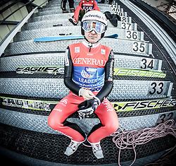 31.12.2013, Olympiaschanze, Garmisch Partenkirchen, GER, FIS Ski Sprung Weltcup, 62. Vierschanzentournee, Training, im Bild Simon Ammann (SUI) // Simon Ammann (SUI) during practice Jump of 62nd Four Hills Tournament of FIS Ski Jumping World Cup at the Olympiaschanze, Garmisch Partenkirchen, Germany on 2013/12/31. EXPA Pictures © 2013, PhotoCredit: EXPA/ JFK