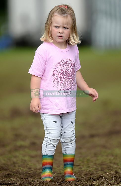 Mia Tindall attends the Festival of British Eventing at Gatcombe Park, Minchinhampton, Gloucestershire, UK, on the 4th August 2017. 04 Aug 2017 Pictured: Mia Tindall. Photo credit: MEGA TheMegaAgency.com +1 888 505 6342