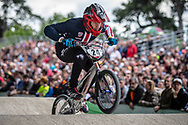 #24 (SHARRAH Corben) USA at Round 6 of the 2019 UCI BMX Supercross World Cup in Saint-Quentin-En-Yvelines, France