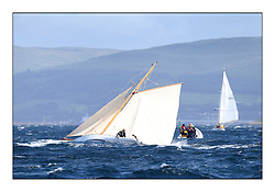 Day five of the Fife Regatta, Race from Portavadie on Loch Fyne to Largs. <br /> <br /> Oblio, Gordon Turner, GBR, Gaff Cutter, Wm Fife 3rd, 2007<br /> <br /> * The William Fife designed Yachts return to the birthplace of these historic yachts, the Scotland's pre-eminent yacht designer and builder for the 4th Fife Regatta on the Clyde 28th June–5th July 2013<br /> <br /> More information is available on the website: www.fiferegatta.com