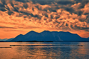 Coast Mountains and Atlin Lake<br />Atlin<br />British Columbia<br />Canada