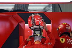 May 23, 2019 - Monte Carlo, Monaco - xa9; Photo4 / LaPresse.23/05/2019 Monte Carlo, Monaco.Sport .Grand Prix Formula One Monaco 2019.In the pic: Sebastian Vettel (GER) Scuderia Ferrari SF90 with special helmet, with remember for Niki Lauda (Credit Image: © Photo4/Lapresse via ZUMA Press)
