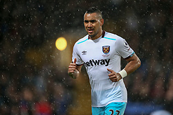 The rain comes down heavier at Selhurst Park, Dimitri Payet of West Ham United - Mandatory by-line: Jason Brown/JMP - 15/10/2016 - FOOTBALL - Selhurst Park - London, England - Crystal Palace v West Ham United - Premier League