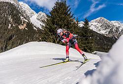 22.02.2020, Suedtirol Arena, Antholz, ITA, IBU Weltmeisterschaften Biathlon, Damen, 4 x 6 km Staffel, im Bild Tiril Eckhoff (NOR) // Tiril Eckhoff of Norway during women's 4 x 6 km Relay of IBU Biathlon World Championships 2020 at the Suedtirol Arena in Antholz, Italy on 2020/02/22. EXPA Pictures © 2020, PhotoCredit: EXPA/ Stefan Adelsberger