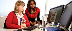 Support Services, Australian Synchrotron,   HR, Human Resources.   Catriona Starr & Genevieve Lobo.