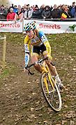 Friday 1 November 2013: Sophie de Boer in action during the Koppenbergcross 2013 women's race. Copyright 2013 Peter Horrell