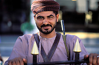 Muscat - Guard of Sultan palace - Oman