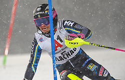 08.01.2019, Hermann Maier Weltcupstrecke, Flachau, AUT, FIS Weltcup Ski Alpin, Slalom, Damen, 1. Lauf, im Bild Frida Hansdotter (SWE) // Frida Hansdotter of Sweden in action during her 1st run of ladie's Slalom of FIS ski alpine world cup at the Hermann Maier Weltcupstrecke in Flachau, Austria on 2019/01/08. EXPA Pictures © 2019, PhotoCredit: EXPA/ Erich Spiess
