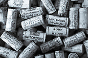 FINE ART PHOTOGRAPHY by Tim Graham<br /> FOOD AND WINE - French Wine Corks