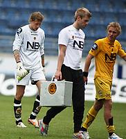 Fotball Tippeliga<br />Viking Stadion 080608<br />Viking - Bodø Glimt<br />Foto: Sigbjørn Andreas Hofsmo, Digitalsport<br /><br />Pavel  Londak - Trond Olsen