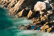 Rocks and surf, Julia Pfeiffer Burns State Park, Big Sur, California