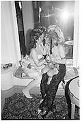 Kit Harvey and Josa Keyes, Piers Gaveston Ball, Park Lane Hotel 13.05.83© Copyright Photograph by Dafydd Jones 66 Stockwell Park Rd. London SW9 0DA Tel 020 7733 0108 www.dafjones.com
