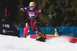 Claudia Riegler (AUT) during parallel slalom FIS Snowboard Alpine World Championships 2021 on March 2nd 2021 on Rogla, Slovenia. Photo by Grega Valancic / Sportida