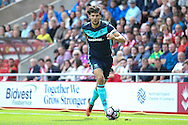 Middlesbrough defender George Friend (3)  during the Premier League match between Sunderland and Middlesbrough at the Stadium Of Light, Sunderland, England on 21 August 2016. Photo by Simon Davies.