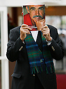 Sir Sean Connery, Being A Scot book launch, Edinburgh Book Festival 2008.<br /> 25/08/08<br /> Sir Sean Connery lanches his book Being a Scot, the book was written with long time friend Murray Grigor. The Book chartsScotland and it's achievements and what it means to the man who made  James Bond 007 his own, Sir Sean Connery what it means to Be A Scot .....<br />   At The Edinburgh Book Festival 2008,  Edinburgh today.<br /> <br /> Picture by Mark Davison/ Heather Carry Ward / Universal News & Sport