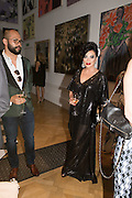 NANCY DELL D'OLIO, Royal Academy Summer exhibition party. Piccadilly. 7 June 2016