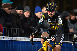 February 9, 2019 - Lille, BELGIUM - Belgian Marthe Truyen pictured in action during the women's elite race of the Krawatencross cyclocross in Lille, the eighth and last stage in the DVV Trofee Cyclocross competition, Saturday 09 February 2019. BELGA PHOTO DAVID STOCKMAN (Credit Image: © David Stockman/Belga via ZUMA Press)