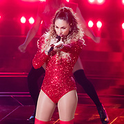NLD/Hilversum/20180209 - 3e Liveshows The voice of Holland 2018, Kimberly Maasdamme