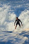 Surfer, Waimea Bay, North Shore, Oahu, Hawaii