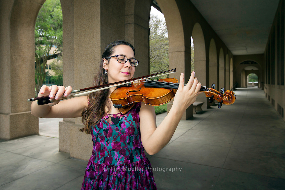 Baton Rouge Area Foundation Blizter Award winner Deborah Ribeiro is pursuing a masters degree at Louisiana State University. She has performed professional orchestras in both her native Brazil and United States since 2007. She moved to Louisiana in 2009 after receiving with a full ride undergraduate scholarship at Nicholls State University.