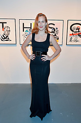 CHARLOTTE OLYMPIA DELLAL at the Women for Women International Catwalk Show & Auction in partnership with Brown's and sponsored by Swarovski held at The Vinyl Factory, Brewer Street Space, Brewer Street, London on 20th November 2014.