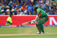 Cricket - 2019 ICC Cricket World Cup - Group Stage: Bangladesh vs. India<br /> <br /> Bangladesh's Rubel Hossain bowled by India's Jasprit Bumrah as India beat Bangladesh by 28 runs, at Edgbaston<br /> <br /> COLORSPORT/ASHLEY WESTERN