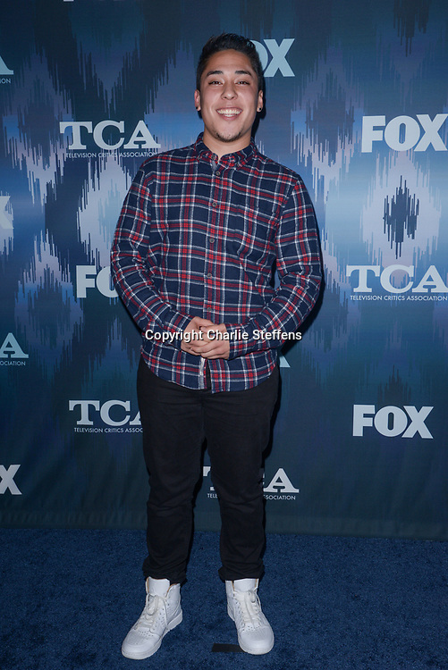 ANDRE MILLAN at the Fox Winter TCA 2017 All-Star Party at the Langham Hotel in Pasadena, California