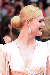 Elle Fanning attending the opening ceremony and premiere of The Dead Don't Die, during the 72nd Cannes Film Festival.