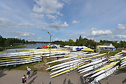 Trackai. LITHUANIA.General views, GV's Boat storage and boating area.  2012 FISA U23 World Rowing Championships,   17:47:52 {dow], {date} [Mandatory Credit: Peter Spurrier/Intersport Images]..Rowing. 2012. U23.