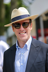 © Licensed to London News Pictures. 20/05/2019. London, UK. Anton Du Beke attends Chelsea Flower Show. <br /> The Royal Horticultural Society Chelsea Flower Show is an annual garden show held over five days in the grounds of the Royal Hospital Chelsea in West London. The show is open to the public from 21 May until 25 May 2019. Photo credit: Dinendra Haria/LNP