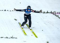 09.02.2020, Energie AG Skisprung Arena, Hinzenbach, AUT, FIS Weltcup Ski Sprung, Damen, im Bild Anne Odine Stroem (NOR) // during her jump for the women's FIS Ski Jumping World Cup at the Energie AG Skisprung Arena in Hinzenbach, Austria on 2020/02/09. EXPA Pictures © 2020, PhotoCredit: EXPA/ Reinhard Eisenbauer