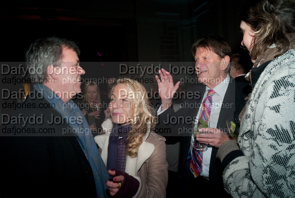 TONY ELLIOT; VIRGINIA DAMTSA; John Madejski , Cecil Beaton private view. V and A Museum. London. 6 February 2012