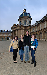 Students participate in the Trinity College study abroad program in Paris, France on Wednesday, March 30, 2011. (Photo © Jock Fistick)