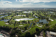 The Blue Monster golf course at the Doral Country Club, Miami, Florida