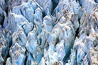 Crevasses in the Conrad Glacier, British Columbia, Canada