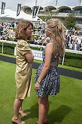 PAULINE CASE; NANCY CASE, Ladies Day, Glorious Goodwood. Goodwood. August 2, 2012