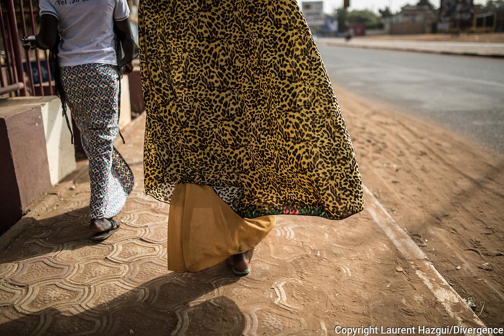 21012018. Niger. Niamey. Street photography. Photo d'atmosphère.