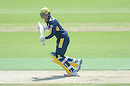 Hampshire batsman Tom Alsop during the Royal London One Day Cup match between Hampshire County Cricket Club and Essex County Cricket Club at the Ageas Bowl, Southampton, United Kingdom on 5 June 2016. Photo by David Vokes.