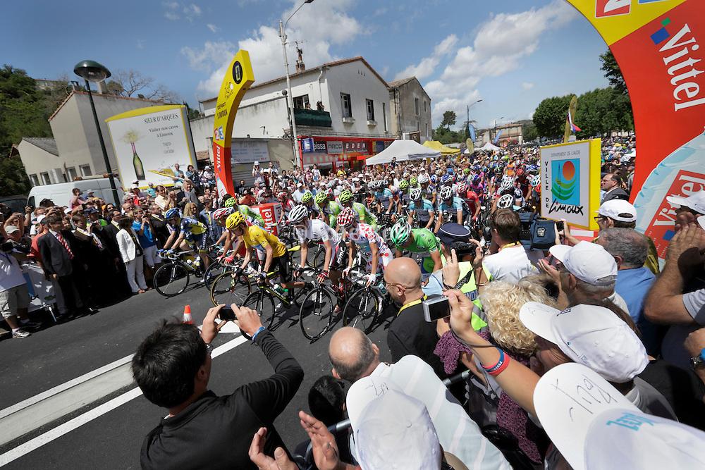 Limoux, Tour de France, 2012 stage 14, zero seconds to start