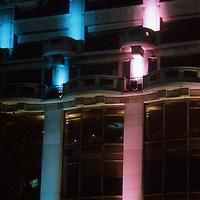 La Samarataine at night on the right bank pof the Seine