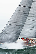 Nashua sailing in the Opera House Cup.