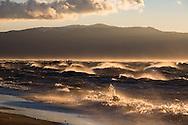 High winds on Lake Tahoe