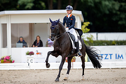 Pap Kimberly, NED, Jersey<br /> World Championship Young Horses Verden 2021<br /> © Hippo Foto - Dirk Caremans<br /> 27/08/2021