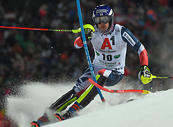 """29.01.2019, Planai, Schladming, AUT, FIS Weltcup Ski Alpin, Slalom, Herren, 1. Lauf, im Bild Dave Ryding (GBR) // Dave Ryding of United Kingdom in action during his 1st run of men's Slalom """"the Nightrace"""" of FIS ski alpine world cup at the Planai in Schladming, Austria on 2019/01/29. EXPA Pictures © 2019, PhotoCredit: EXPA/ Erich Spiess"""