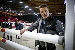 """Lancering """"Ga voor Galop""""<br /> Stefaan Lammens parcours verkennen zoals het moet<br /> Flanders Horse Expo - Gent 2012<br /> © Dirk Caremans"""