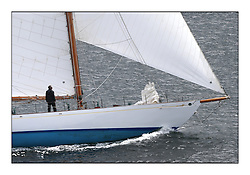 Day three of the Fife Regatta, Cruise up the Kyles of Bute to Tighnabruaich<br /> <br /> Latifa, 8, Mario Pirri, ITA, Bermudan Yawl, Wm Fife 3rd, 1936<br /> <br /> * The William Fife designed Yachts return to the birthplace of these historic yachts, the Scotland's pre-eminent yacht designer and builder for the 4th Fife Regatta on the Clyde 28th June–5th July 2013<br /> <br /> More information is available on the website: www.fiferegatta.com