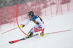 Zebhausern Ramon (SUI) during the Audi FIS Alpine Ski World Cup Men's  Slalom at 60th Vitranc Cup 2021 on March 14, 2021 in Podkoren, Kranjska Gora, Slovenia Photo by Grega Valancic / Sportida