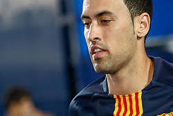 September 26, 2018 - Sergio Busquets of FC Barcelona during the La Liga (Spanish Championship) football match between CD Leganes and FC Barcelona on September 26th, 2018 at Municipal Butarque stadium in Madrid, Spain. (Credit Image: © AFP7 via ZUMA Wire)